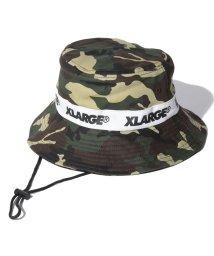 XLARGE KIDS/ロゴテープハット/502331344