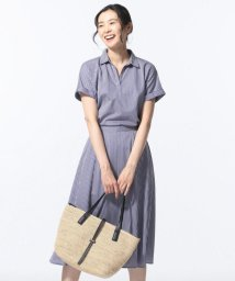 J.PRESS LADIES(LARGE SIZE)/【セットアップ】TWO LINE STRIPES セットアップ ワンピース/502345065
