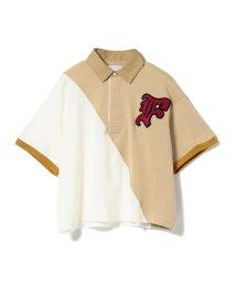 BEAMS OUTLET/FACETASM × Ray BEAMS / 別注 バイカラー ポロシャツ/501507343