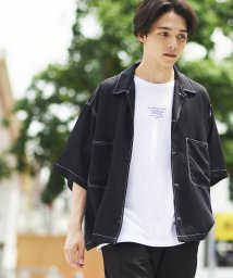 WEGO/カラーステッチビッグシャツ(5)/502290136