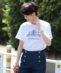 Ray BEAMS/NAIJEL GRAPH × Ray BEAMS / 別注 GIRL in Bed Tシャツ/502307429