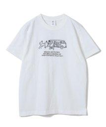 Ray BEAMS/NAIJEL GRAPH × Ray BEAMS / 別注 Yellow Wagon Tシャツ/502307430