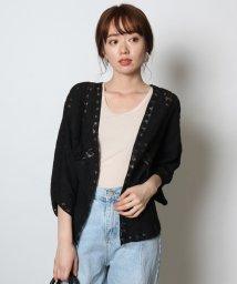 SCOTCLUB/Vin(ウ゛ァン) 刺繍レースショートガウン/502325862