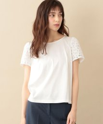 TO BE CHIC/【ウォッシャブル】ダイヤレースコンビカットソー/502327554