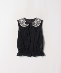 To b. by agnes b./WK93 CHEMISE レース衿ブラウス/502334525