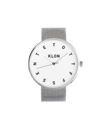KLON/KLON ALPHABET TIME -SILVER MESH- 40mm/502338854