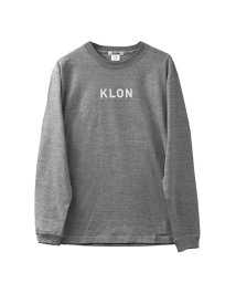 KLON/KLON LONG T GRAY(LOGO WHITE)/502338935