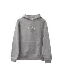 KLON/KLON PULLOVER PARKA GRAY(LOGO WHITE)/502338945
