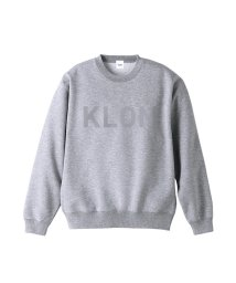 KLON/KLON SWEAT HIDE LOGO GRAY/502338948