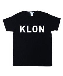 KLON/KLON Tshirts LARGE LOGO BLACK/502339605