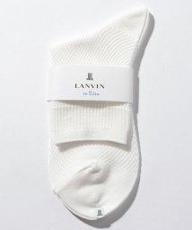LANVIN en Bleu(ladies socks)/柄編みソックス/502339704