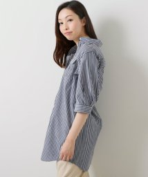 framesRayCassin/ストライプロングシャツ/502345927