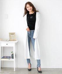 Julia Boutique/ふんわりハイゲージニットロングカーディガン/510247/502346130