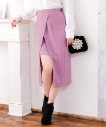 Julia Boutique/スリットデザインミディアム丈タイトスカート/520027/502346153