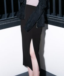 Julia Boutique/スリットデザインミディアム丈スカート/520054/502346154