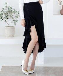 Julia Boutique/マーメイドフリルミディアム丈スカート/520056/502346155