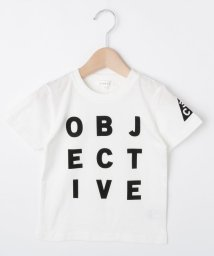 3can4on(Kids)/【コットン100%】【90cm~150cm】ロゴプリントTシャツ/502346732
