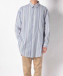 Ciaopanic/マルチストライプロングシャツ/502335645