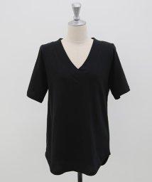 NANING9/NANING9(ナンニング)Vネック半袖Tシャツ/502346484