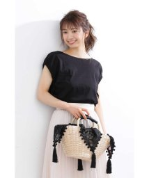 PROPORTION BODY DRESSING/スリーブギャザーリボンカットソー/502347900