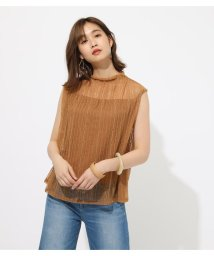 AZUL by moussy/FRILL NECK LACE TOPS/502348004