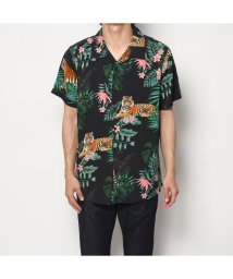GUESS/ゲス GUESS ROGAN WILD JUNGLE SHIRT (WILD JUNGLE PRINT)/502349829