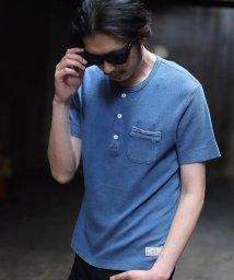 RATTLE TRAP/Health Knit別注ヘンリーネックTシャツ/501973338