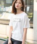 GeeRa/〈FILA〉ボックスロゴTシャツ      /502329787