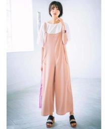 GeeRa/フリルTシャツ&サロペットセットアップ   /502329856
