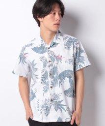 JNSJNM/【BLUE STANDARD】メンアロハシャツ/502334470