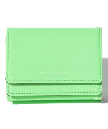 beautiful people/reflect leather compact wallet/502335978