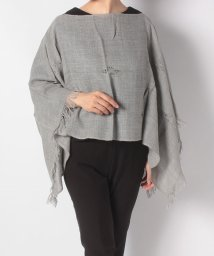 SHIPS WOMEN/【SHIPS for women】TEJIDO:SLD LONG PONCHO          /502337056