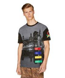BENETTON (mens)/フォトプリント半袖Tシャツ・カットソー/502341567
