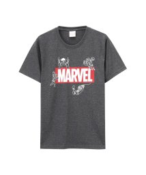 MAC HOUSE(men)/LOVE-T MARVEL BOXロゴTシャツ 391113124/502342579