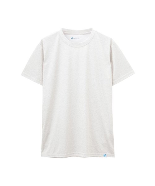 MAC HOUSE(men)(マックハウス(メンズ))/SARARI UPF50+杢Tシャツ 24433454/01222006499