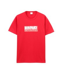 MAC HOUSE(men)/LOVE-T MARVEL BOXロゴTシャツ 932038MH/502342585