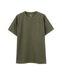 MAC HOUSE(men)/Navy ネイビー 汗ジミ軽減 クルーネックTシャツ MH/03625SS-1/502342589