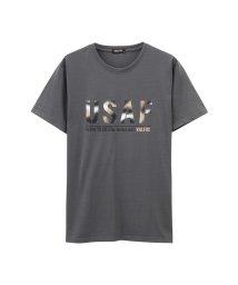 MAC HOUSE(men)/T-GRAPHICS VALFOXプリントTシャツ EJ193-MC142/502342593