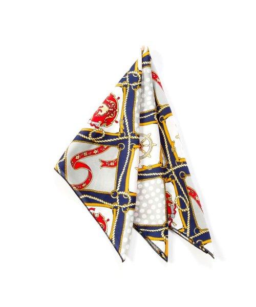 cream dot(クリームドット)/バッグに結んで雰囲気をクラスアップしてくれたりと、ブロガーにも大人気のバンダナスカーフ/a00503