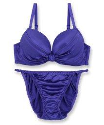 fran de lingerie/Smooth Ribbon スムースリボン ブラ&ショーツセット B-Gカップ/502349173