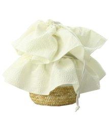 branshes/フリル巾着カゴバッグ/502351569