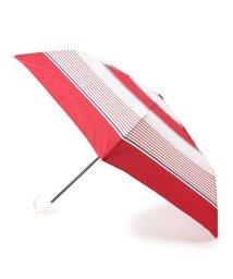 grove/晴雨兼用マルチボーダー折り畳み傘/502352617