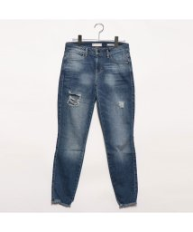 GUESS/ゲス GUESS DESTROYED SEXY CURVE SKINNY DENIM PANT (LANDIN WASH)/502333470