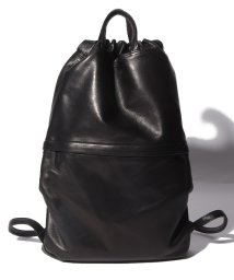 PATRICK STEPHAN/Leather backpack  'cordon'/502345420