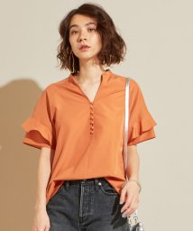 BEAUTY&YOUTH UNITED ARROWS/【予約】BY ラッフルスリーブスキッパーブラウス 2 -手洗い可能-/502352698