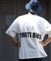 Schott/【WEB限定】OVERSIZE T-SHIRT SCHOTT BROS./ビッグシルエット オーバーサイズ Tシャツ/502353362