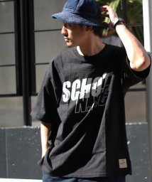 Schott/【WEB限定】OVERSIZE T-SHIRT SCHOTT N.Y.C/ビッグシルエット オーバーサイズ Tシャツ/502353363