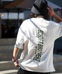 Schott/【WEB限定】OVERSIZE T-SHIRT SCHOTT BROTHERS/ビッグシルエット オーバーサイズ Tシャツ/502353364