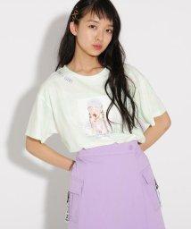 PINK-latte/タイダイ転写 Tシャツ/502354857