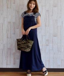 felt maglietta/フード付で可愛さアップスタイリッシュなオーバーオールマキシ丈ジャンパースカート/502354895